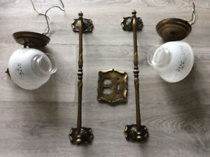 Antique Vanity lights