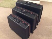 Delsey rigid framed suitcases