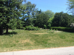 Building lot in Hearts Desire with Jock River Views