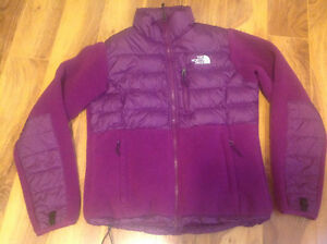 Womens North Face Jacket Fleece/Goose Down 550 Small