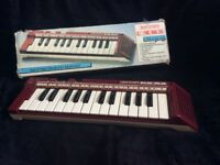 Vintage Bontempi Basic BK26 keyboard in original box