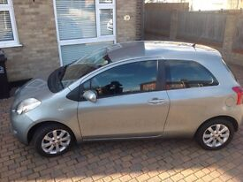 Toyota yaris1.3 zinc auto 57 plate 39000miles fsh 2 owners silver