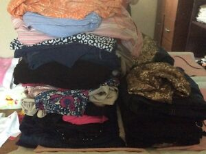 Large lot of xl maternity clothes
