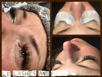 $65 Classic Eyelash Extensions and $95 volume lashes