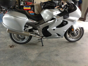 2002 ZZR 1200 with beetle bags