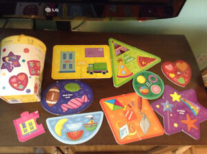 Board Game: Infantino Shapes and Colors Puzzles