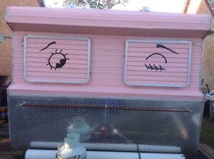 Pink caravan Langwarrin Frankston Area Preview