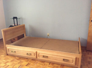 Single bed ideal for child.