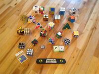 plus de 20 rubix cube de toutes formes