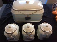 Ceramic Bread Bin and Kitchen Storage
