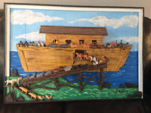Noah's Ark made locally