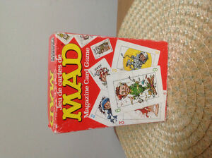 Mad Magazine Card Game by Parker Brothers 1979