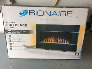 Bionaire Electric Fireplace,