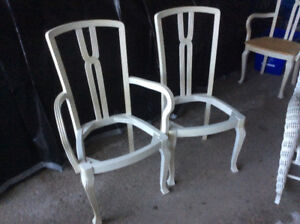 Hand finished dining chairs