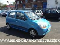 2006 (06 Reg) Chevrolet Matiz 0.8 SE AUTOMATIC 5DR Hatchback BLUE + LOW MILES