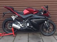 Yamaha YZF R 125 (Facelift model) Only 8156miles *Credit & Debit Cards Accepted*