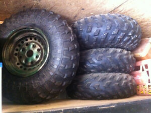 Honda four trax tires and rims