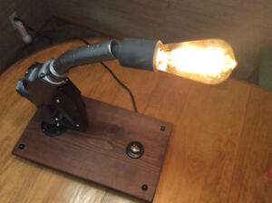 Vintage gas pump desk light art deco - FOR THE CAR GUY!!!
