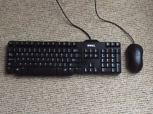 DELL KEYBOARD AND MICE