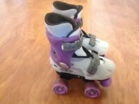 Girls skates - adjustable size 12,1,2 - kids quad skates