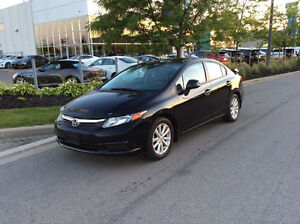 2012 Honda Civic EX, Loaded, Very Good Condition, Like New!!!