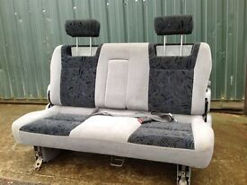 Mazda Bongo Triple Folding Seat with arm rest and seat belts