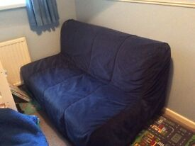 For sale - Blue sofa bed