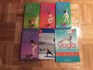 ALL YOU NEED FOR YOGA-MAT/VHS TAPES/BOOK - EVERYTHING NEW