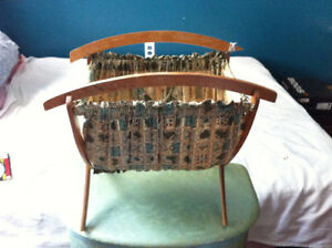 Vintage Magazine Cloth Rack