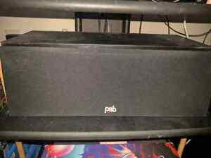 4 jbl 100 watt satellite speakers and psb 100w center channel  Sarnia Sarnia Area image 5