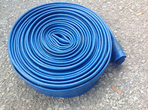 Heavy Duty 50 Ft Backwash Hose 25 Mil