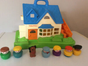 maison fisher price avec personnage