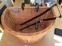 Brand New Quality Wicker Bike Basket