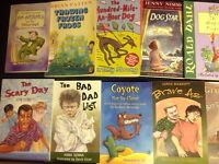 Books kids collection, the goonies, Roald Dahl etc