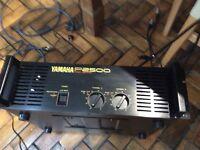 Yamaha p2500 power amp