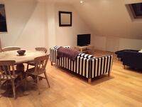 Double ensuite room in friendly house share just ten mins from Clapham junction!