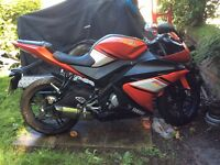 Yamaha YZF R125 Red 2010 Excellent condition