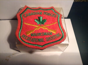 Crest: Canadian Forces Marksman Recreational Shooting