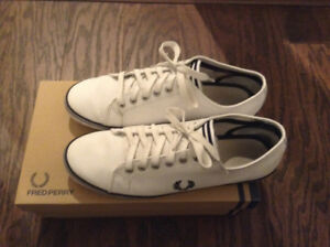 Fred Perry Kingston Leather Sneakers /Pre-owned/