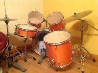REDUCED Mapex M Series Drum Kit - Orange - reduced