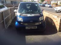 Smart car passion ,600 cc low road taxNew mot on purchase