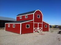 Barn with lofts for sale.
