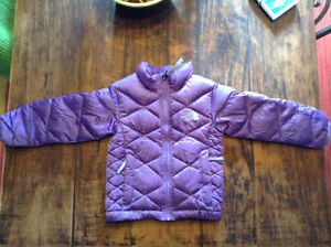 Toddler 3t thin purple north face down jacket
