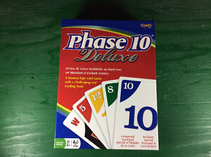 Phase 10 Deluxe Boardgame