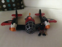 Imaginext Toy airplane with pilot