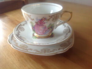Antique Lubern From England Cup & Saucer Set