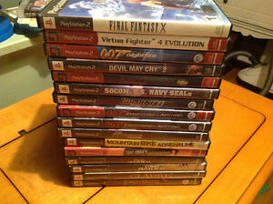 Play Station 2 Set 13 games