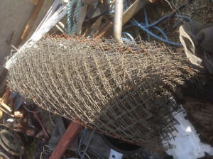 ROLL OF CHAIN LINK FENCE,   4X 45FT