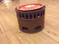 Vintage camping stove retro