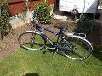 Ladies and gents pioneer 160 touring bikes